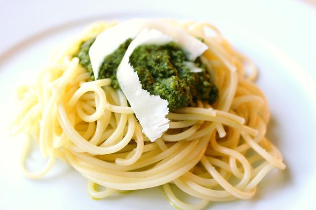 Pâtes sauce Pesto-Moringa BiO